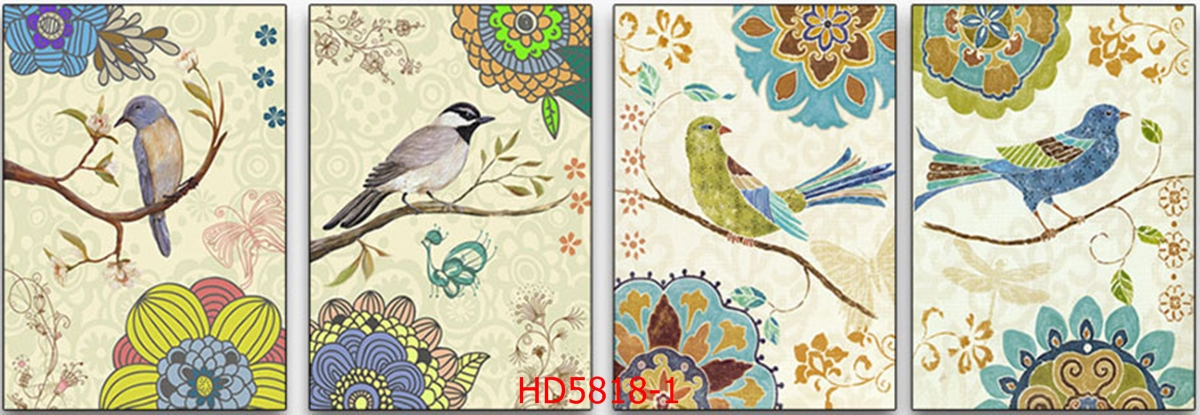 File tranh bộ hiện đại HD5818